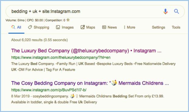 finding instagram influencers